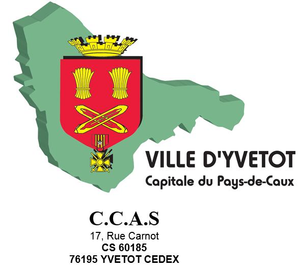 logo du CCAS ville d'Yvetot